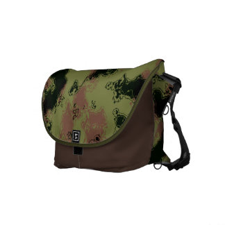 Camouflage Pattern Courier Bags