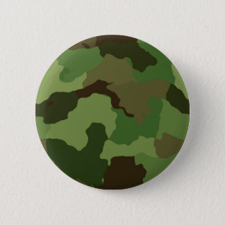 Camouflage Pattern Pinback Button