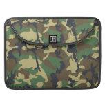 Camouflage Pattern Rickshaw Flap Sleeve MacBook Pro Sleeves