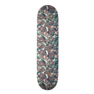 Camouflage Pattern Skateboard