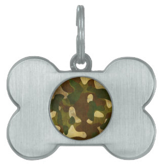 Camouflage Pet Name Tags