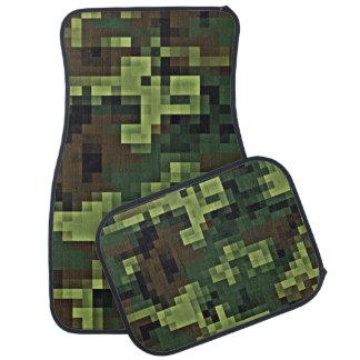 Camouflage Pixel Patten Vehicle Floor Mats