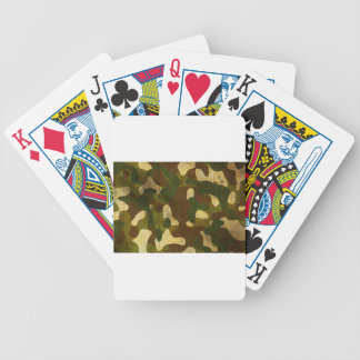 Camouflage Bicycle Poker Cards