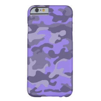 Camouflage Print (Customizable Colors) Barely There iPhone 6 Case