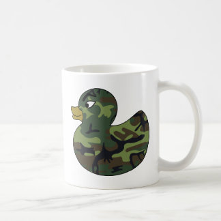 Camouflage Rubber Duck Coffee Mug