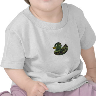 Camouflage Rubber Duck T-shirts