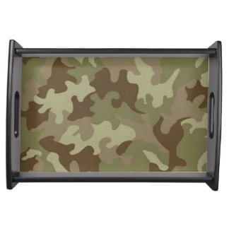 Camouflage Serving Tray