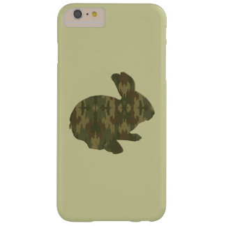Camouflage Silhouette Easter Bunny iPhone 6 Case