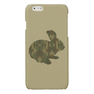 Camouflage Silhouette Rabbit iPhone 6 Case Glossy iPhone 6 Case