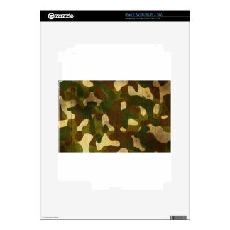 Camouflage Decals For iPad 2