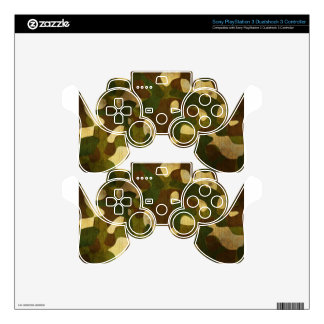 Camouflage PS3 Controller Decal