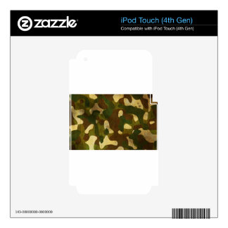 Camouflage iPod Touch 4G Skin
