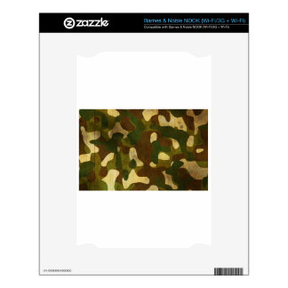 Camouflage Skins For The NOOK