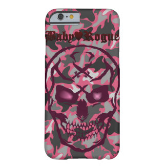Camouflage Skull Dokuro and Hart Barely There iPhone 6 Case