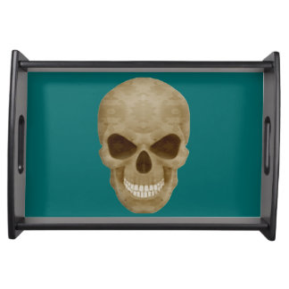 Camouflage Skull Serving Tray