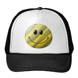 Camouflage Smiley Face Trucker Hat