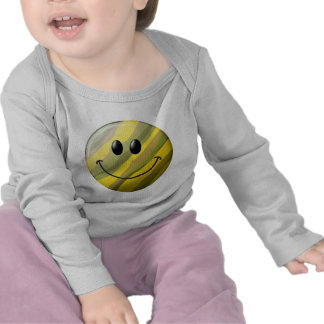 Camouflage Smiley Face Tee Shirts