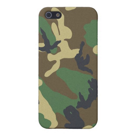 Camouflage Speck Case iPhone 5 Case