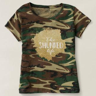 Camouflage T - The Shunned Life T-shirt