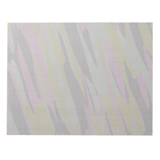 Camouflage texture memo note pad