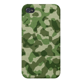 - Camouflage - Thick Jungle Cover For iPhone 4