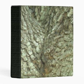 Camouflage Trees Tree Fork Bark Camo Mini Binder