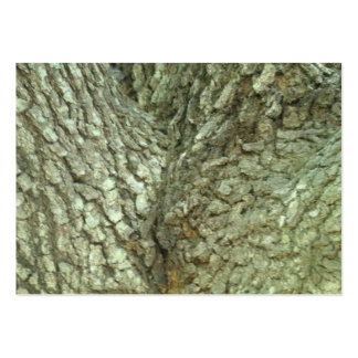 Camouflage Trees Tree Fork Bark Camo Nature Photo Large Business Card