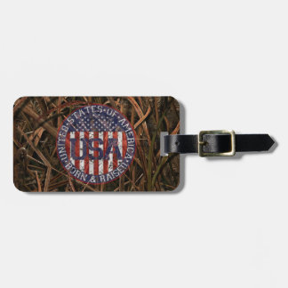 Camouflage USA Tags For Bags