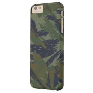 Camouflage Vintage Jungle Pattern Barely There iPhone 6 Plus Case