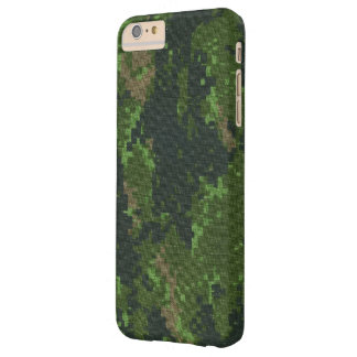 Camouflage Vintage Pattern Barely There iPhone 6 Plus Case