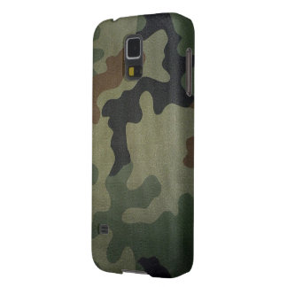 Camouflage Vintage Style Pattern Case For Galaxy S5