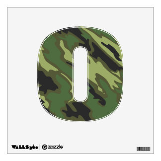Camouflage Wall Sticker