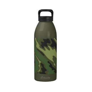 Camouflage Reusable Water Bottle