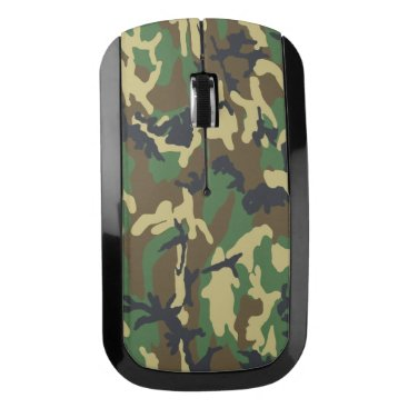 Christmas Themed Camouflage Wireless Mouse