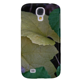 CAMOUFLAGE WITH LEAVES IN EARLY FALL SAMSUNG S4 CASE