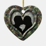 Camouflage Woodland Christmas Ornament