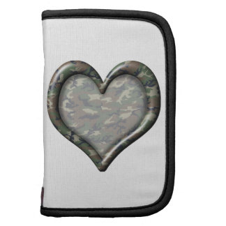 Camouflage Woodland Forest Heart Organizers