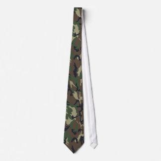Camouflage Woodland Neck Tie