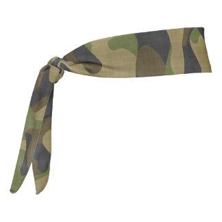 Camouflage Workout Gear Tie Headband