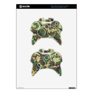 Camouflage Xbox 360 Wireless Controllers Xbox 360 Controller Decal