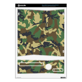 Camouflage Xbox S Console Skin Xbox 360 S Console Skins