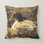 Camouflaged Duck Throw Pillows
