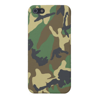 Camouflaged iPhone Case Cases For iPhone 5