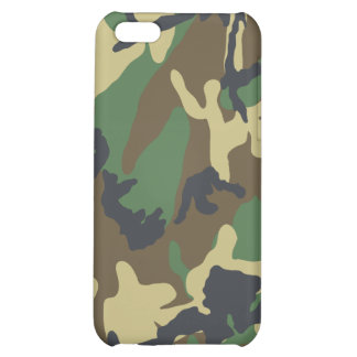 Camouflaged iPhone Case Cover For iPhone 5C