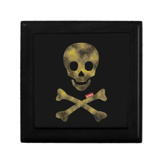 Camouflaged Patterned Skull Jewelry Box