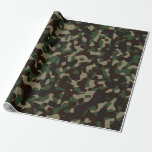 Camouflaged Wrapping Paper