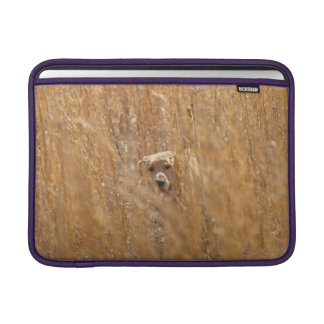 Camouflaged Yellow Labrador Retriever MacBook Sleeve