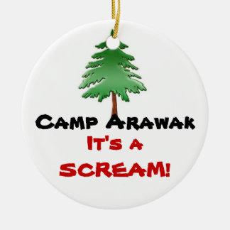Camp Arawak Ceramic Ornament