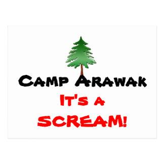 Camp Arawak Postcard