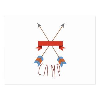 Camp Arrows Postcard